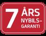 7-års nybilsgaranti