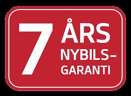 7 års Nybilsgaranti