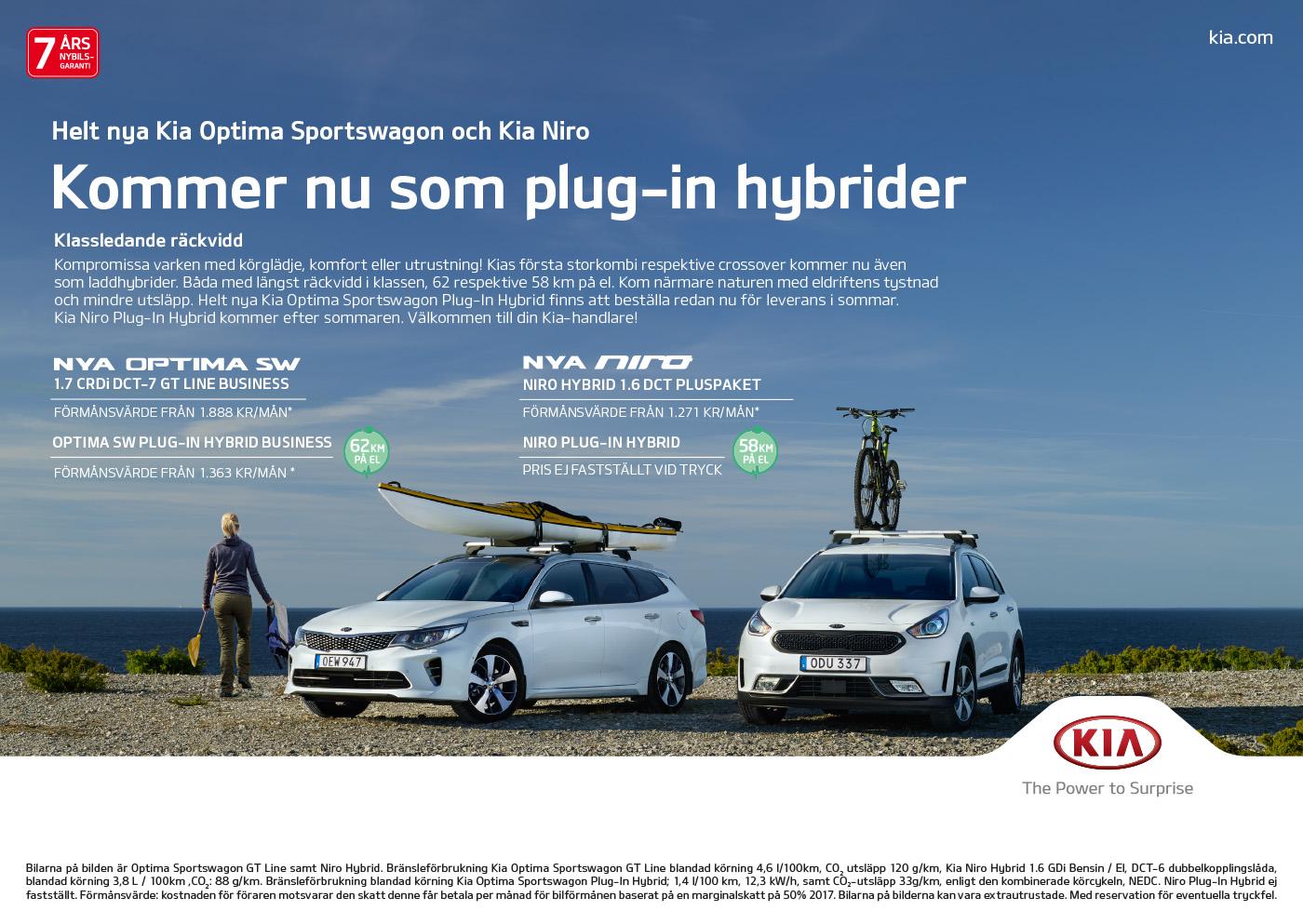 Kampanj Plug-In Hybrid